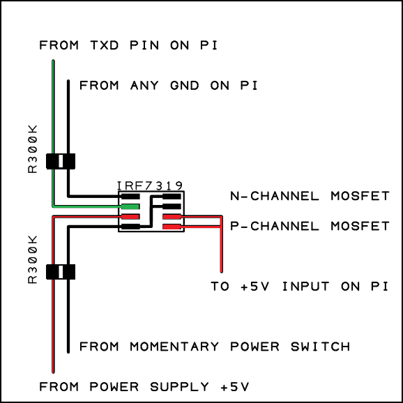 p channel mosfet circuit diagram raspberry pi simple soft on/off circuit – othermod.com box mod mosfet wiring diagram #14