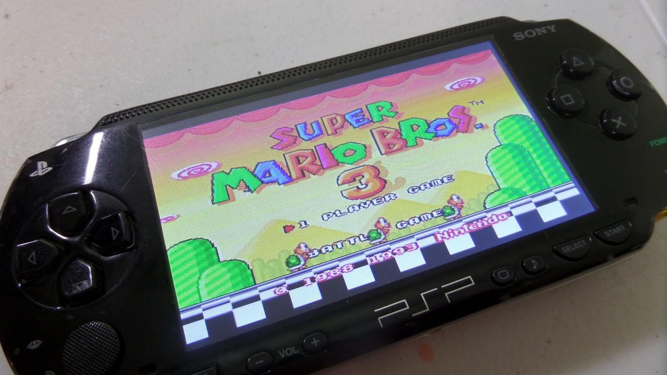 PSPi Version 1000.1 – Raspberry Pi Zero in a PSP