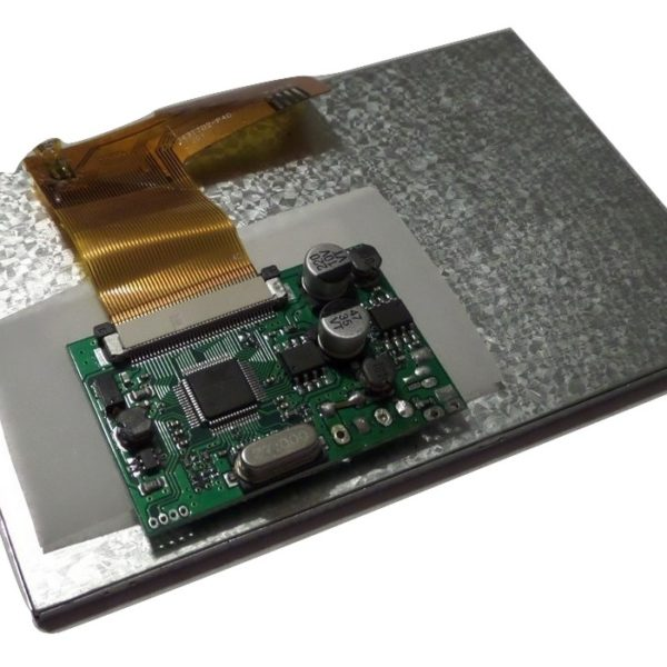 4.3″ Composite LCD and Controller Board